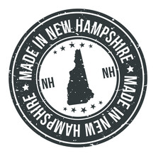 Made In New Hampshire State US...
