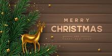 Christmas Horizontal Banner Wi...