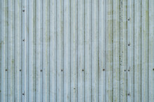 White Worn Metal Texture Backg...