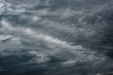 Stormy Gray Clouds In Sky