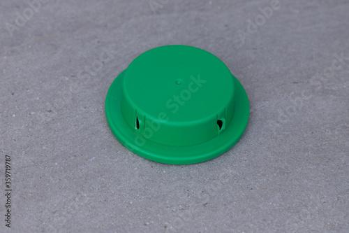 green ant bait box Canvas