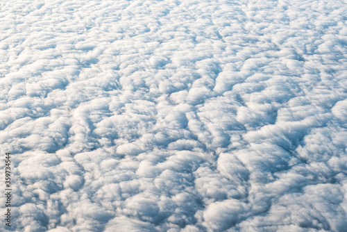 clouds aero landscape space climate Wallpaper Mural