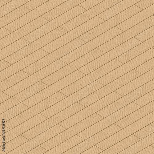 Photo Isometric hardwood floor