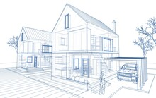 Townhouse Architectural Sketch...