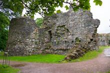 Inverlochy Castle, Ruine Einer Alten Festung In Fort William Schottland