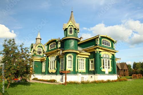 Canvastavla House of Folk Art and Crafts in Gorokhovets, Vladimir Region, Russia
