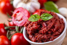 Fresh Tomato And Tomatoes Paste