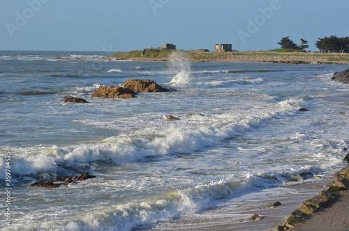 Obraz na płótnie Pointe de l'Herbaudière, île de Noirmoutier, Vendée, west of France