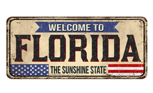 Welcome To Florida Vintage Rus...