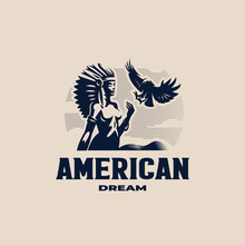 A Native American Woman