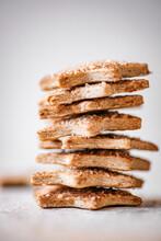 Pie Crust Star Cookies