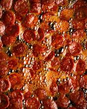 Chorizo Frying In Oil