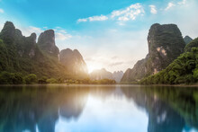 The Beautiful Landscape And Natural Landscape Of Guilin