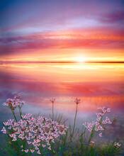 Stunning Sunset On The Lake Wi...