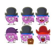 Cartoon Character Of Purple Cl...