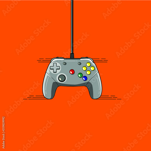 video game controller icon Tableau sur Toile