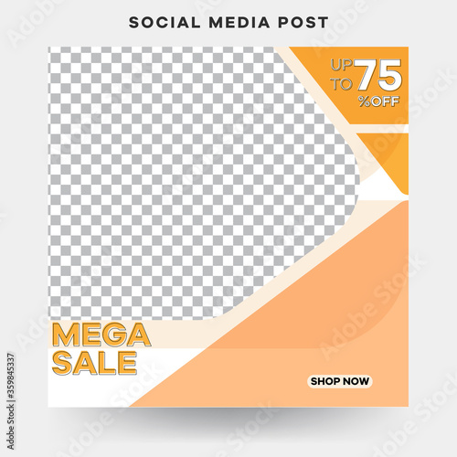 Photo New arrivals collection social media banner template