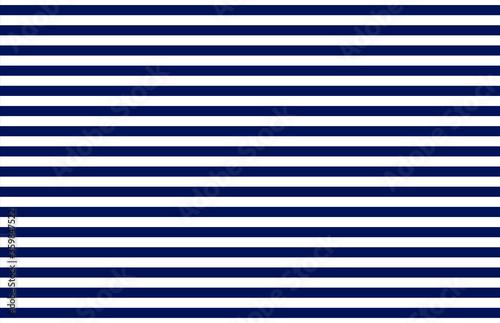 Fototapeta Marine stripe singlet pattern blue white lined vector seamless. Classic navy clothing texture. textile simple print. Graphic illustration obraz
