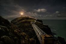 South Stack Lighthouse Near Ho...