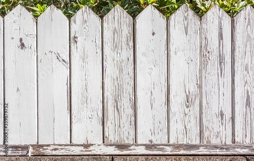 Obraz Vieille clôture, barrière bois - fototapety do salonu