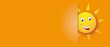 Covert Funny Sun Orange Header