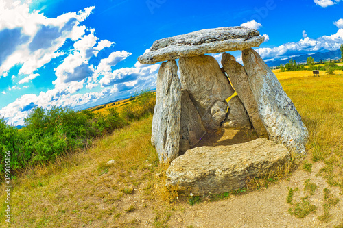 Dolmen of Sorginetxe, Arrizala, Agurain- Salvatierra, Álava, Basque Country, Spain, Europe
