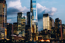 Scenery View Of Lower Manhatta...