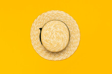 Women S Summer Straw Hat On Ye...