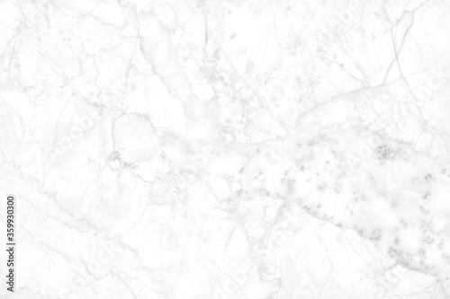 Leinwand Poster White grey marble floor texture background with high resolution, counter top view of natural tiles stone in seamless glitter pattern and luxurious