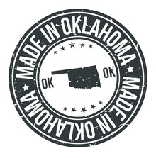 Made In Oklahoma State USA Qua...