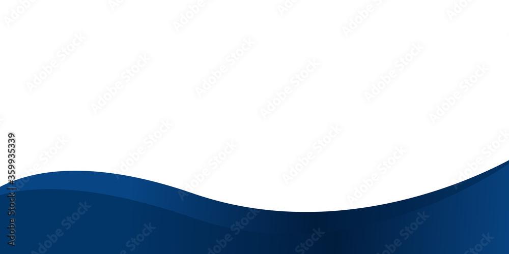 Fototapeta Abstract blue composition presentation background design. Vector illustration design for presentation, banner, cover, web, flyer, card, poster, wallpaper, texture, slide, magazine, and powerpoint.