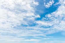 Beautiful Cirrus Clouds Agains...