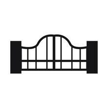 Gate Vector Icon Design