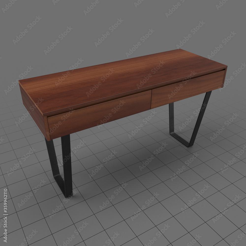 Fototapeta Modern console table 6