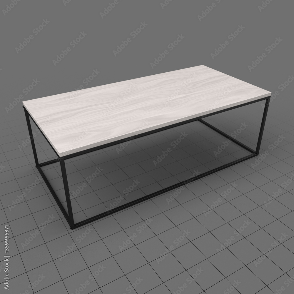 Fototapeta Modern coffee table 1