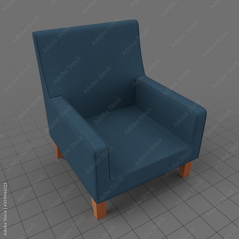 Fototapeta Modern armchair