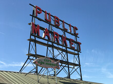 Public Market Sign At The Seat...