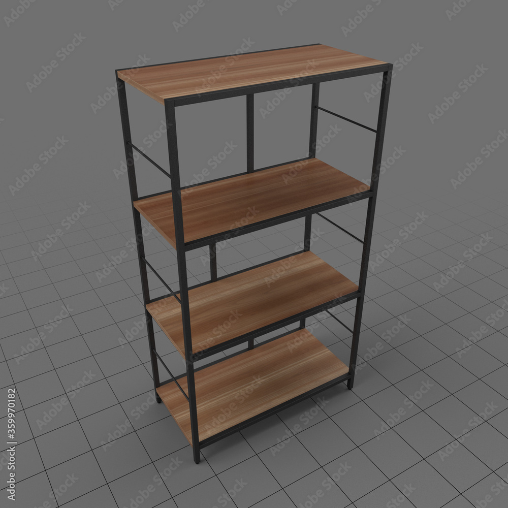 Fototapeta Modern bookcase 1