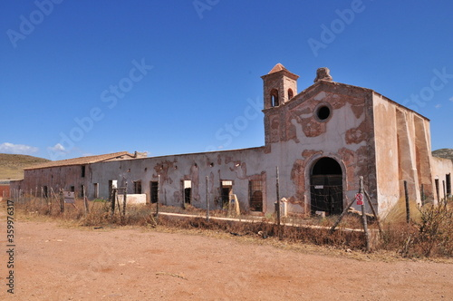 Платно Cortijo de los Frailles, shooting location of Sergio Leone's The Good, the Bad