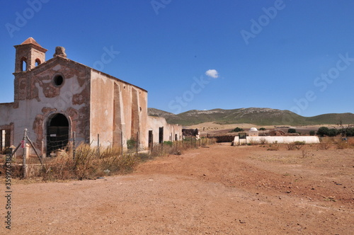 Cortijo de los Frailles, shooting location of Sergio Leone's The Good, the Bad фототапет