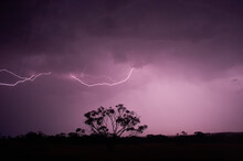 Lightning Bolt Over Australian...