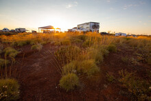 Caravans Parked In Outback Res...