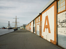 A Shed At Fremantle Ports