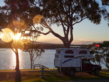Camping Vehicle In Mallacoota