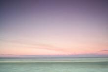 Sunset Landscape At The Beach
