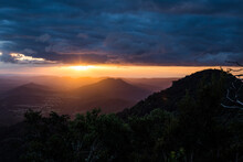 Main Range Sunset