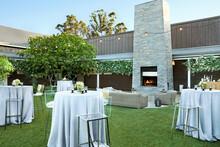 Event Set Up For A Wedding Reception