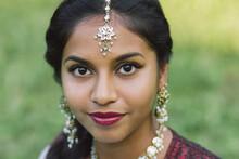 Portrait Of A Sri Lankan Girl