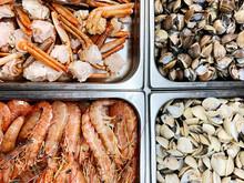 Sea Food Selling On Market