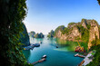canvas print picture - Ha Long Bay in Vietnam
